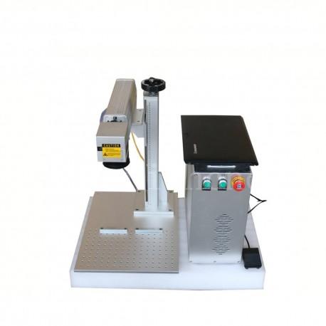 Machine de marquage fibre laser portable split 20w, 30, 50w, 100w
